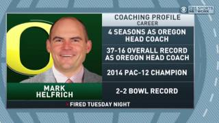 Download Gottlieb: Oregon fires Mark Helfrich Video