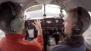 Download Why are Pilots afraid of ATC? Flying IFR with a Controller to find out! - Mooney M20J - VLOG Video