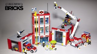 Download Lego City 60110 Fire Station Speed Build Video