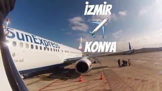 Download SunExpress: XQ 9046 Izmir Konya Uçuşu | TC-SEU Boeing 737-8HC(WL) Video