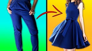 Download 28 CREATIVE IDEAS TO REMAKE OLD CLOTHES AND SAVE YOUR MONEY Video