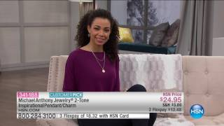 Download HSN | Michael Anthony Jewelry 01.09.2017 - 08 AM Video