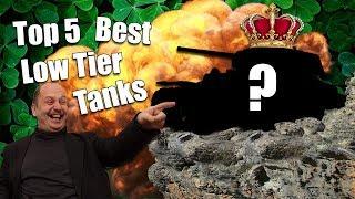 Download WoT || Top 5 || Best Low Tier Tanks Video