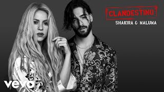 Download Shakira, Maluma - Clandestino (Audio) Video