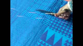 Download Simple gown marking & cutting Video