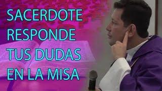 Download INCREÍBLE SACERDOTE RESPONDE DUDAS EN PLENA SANTA MISA - Padre Luis Toro Video