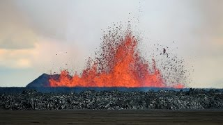 Download Volcanic Eruption in Iceland - Rare Footage (HD 720p) Video