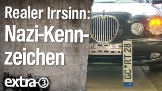 Download Realer Irrsinn: Nazi-Kennzeichen | extra 3 | NDR Video
