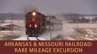 Download Arkansas & Missouri Railroad: Rare Mileage Excursion Video
