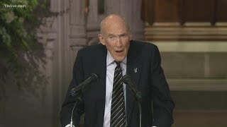 Download Alan Simpson's eulogy to his 'dear friend' President George H.W. Bush Video