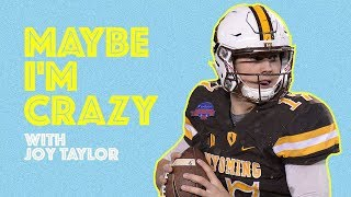Download Josh Allen: The Most Undraftable QB yet | EPISODE 28 | MAYBE I'M CRAZY Video