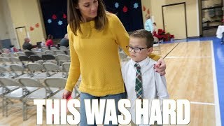 Download THIS WAS NOT EASY FOR HIM | SIX-YEAR-OLD KID OVERCOMING SHYNESS Video