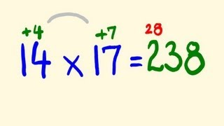 Download Fast Mental Multiplication Trick - multiply in your head using base 10 Video