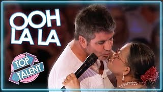 Download LOVE IS IN THE AIR | Judges & Contestants Get Flirty on America's Got Talent & American Idol Video