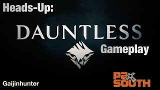 Download Heads Up: Pre-Alpha Dauntless at PAX Video