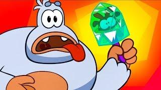 Download Om Nom Stories - Super-Noms meet Bigfoot (Cut the Rope) Kedoo ToonsTV Video