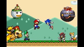 Download Super Mario vs Sonic the Hedgehog Video