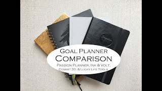 Download Goal Planner Comparison- { Passion Planner, Ink & Volt, Commit 30, & Lucky Life Tools} Video