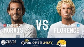 Download Frederico Morais vs. John John Florence - Quarterfinals, Heat 2 - Corona Open J-Bay 2017 Video