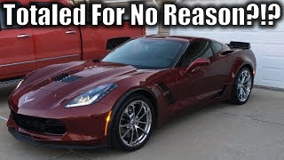 Download $80,000 Corvette Totaled Because of a 1-Inch Crack... HOW? Video