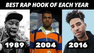 Download Best Rap Hook Of Each Year (1980-2018) Video