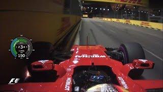 Download Sebastian Vettel's Pole Lap | 2017 Singapore Grand Prix Video