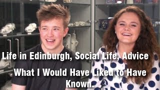 Download Life in Edinburgh, Social Life, Advice - What I Would Have Liked to Have Known. Video