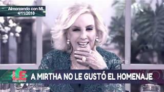 Download A Mirtha Legrand no le gustó el homenaje que le rindió Mery del Cerro y Facu Mazzei Video