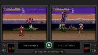 Download Regional Differences [11] Streets of Rage 3 vs Bare Knuckles III (Genesis) Region Comparison Video
