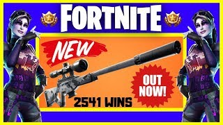 Download NEW Legendary Suppressed Sniper // Top Console Player // 2541+ WINS // Fortnite Battle Royale Live Video