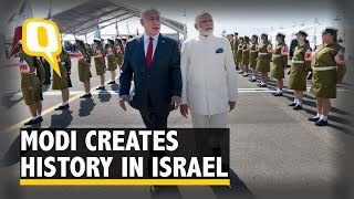 Download PM Modi Receives Grand Welcome On 'Historic' Israel Visit - The Quint Video