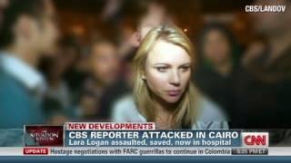 Download CNN: CBS reporter, Lara Logan attacked in Cairo Video