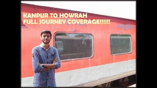 Download 12324 Biweekly Express Full Journey in A.C | Kanpur to Howrah with Accident Coverage Video