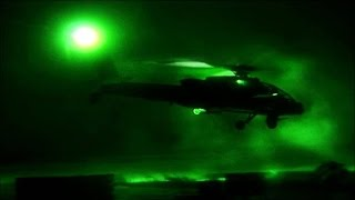 Download Actual Footage of Desert Storm's First Apache Strikes Video