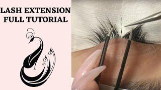 Download Eyelash Extensions 101 | Full Tutorial on Application Video