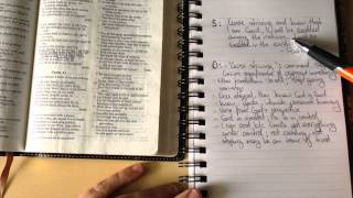 Download How to Study the Bible Using the SOAP Method Video