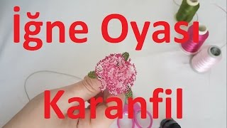 Download Elde başlama iğne oyası karanfil nasıl yapılır ? How to make a clove using Turkish needle lace ?#DIY Video
