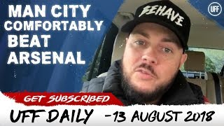 Download LIVERPOOL OVERWHELM WEST HAM | MAN CITY COMFORTABLY BEAT ARSENAL | UFF Daily Video