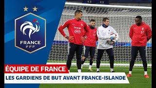 Download Spécifique gardiens de but avant France-Islande, Equipe de France I FFF 2019 Video