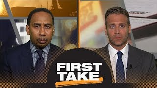 Download Stephen A.: Paul George made a mistake choosing Thunder over LeBron and Lakers | First Take | ESPN Video