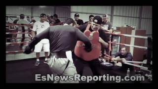 Download Julio Cesar Chavez Jr Got Sick Bodyshots Lands Bombs On Seckbach - esnews boxing Video