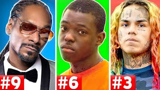 Download 10 Rappers That Are Facing Life In Prison (Tekashi 6ix9ine, Snoop Dogg, Bobby Shmurda) Video