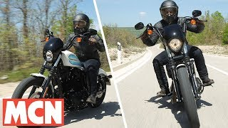 Download Harley Iron 1200 and Forty-Eight   First Ride   Motorcyclenews Video