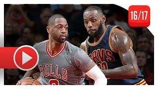 Download Dwyane Wade vs LeBron James SICK Duel Highlights (2016.12.02) Bulls vs Cavaliers - BROTHERHOOD! Video
