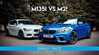 Download STAGE 2 BMW M135i vs STAGE 2 BMW M2 *DRAGY RACE!* N55 Video