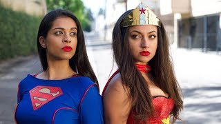 Download Wonder Woman vs. Superwoman | Inanna Sarkis & Lilly ″IISuperwomanII″ Singh Video