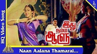 Download Naan Aalana Thamarai Song | Idhu Namma Aalu Tamil Movie Songs| K. Bhagyaraj |Shobana| Pyramid Music Video