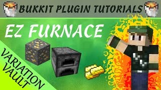 Download EZ Furnace | More efficient cooking! | Minecraft Bukkit Plugin Video
