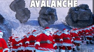 Download UEBS New SANTA AVALANCHE Attack! Planet Earth in Ultimate Epic Battle Simulator (UEBS Sandbox) Video