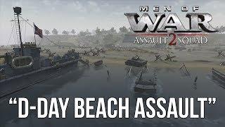 Download Men of War: Assault Squad 2 - D-Day Beach Assault Video